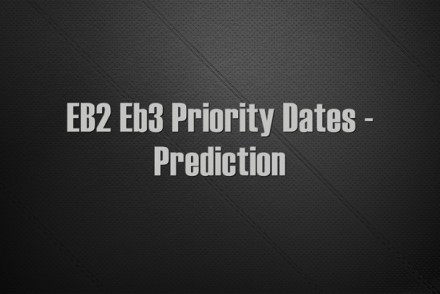 Priority date for eb2