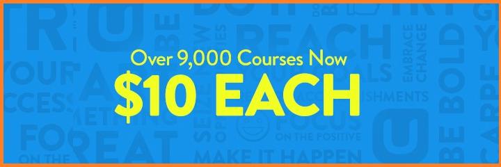 $10 Courses